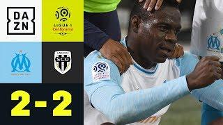 Doppelpack von Mario Balotelli reicht nicht: Olympique Marseille - Angers 2:2 | Ligue 1 | DAZN