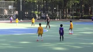 2014/11/21 播道vs王余家潔 上半場 小學校際足球