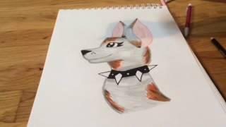 Drawing IRL! Speed Draw-Wolf