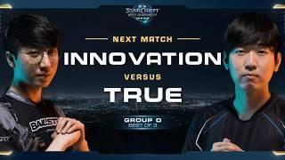 INnoVation vs TRUE TvZ - Group D - WCS Global Finals 2017 - StarCraft II