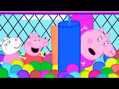 Peppa Pig Français 💙 Les Jeux Gonflables 💙 Compilation Spéciale   Dessin Animé Pour Bébé