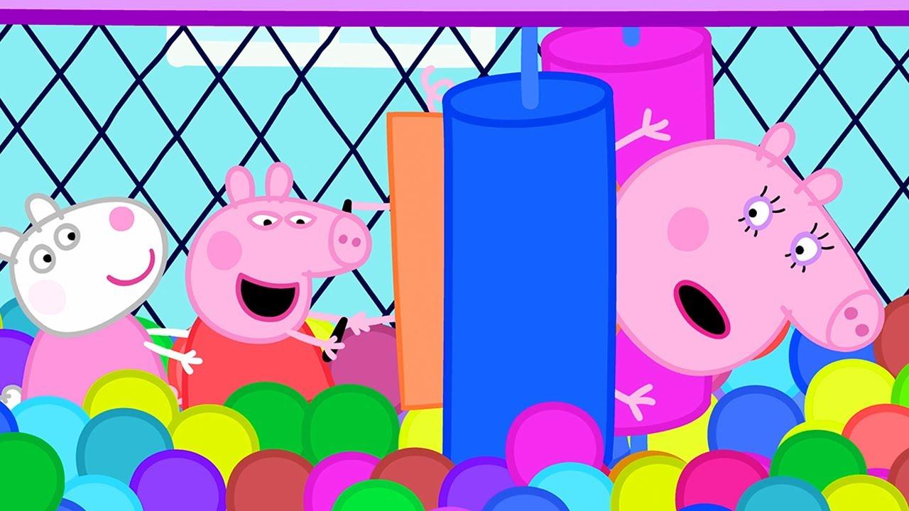 peppa pig francais les jeux gonflables compilation speciale dessin anime pour bebe