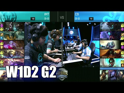 Cloud 9 vs Immortals | Game 2 S6 NA LCS Summer 2016 Week 1 Day 2 | C9 vs IMT G2 W1D2 1080p