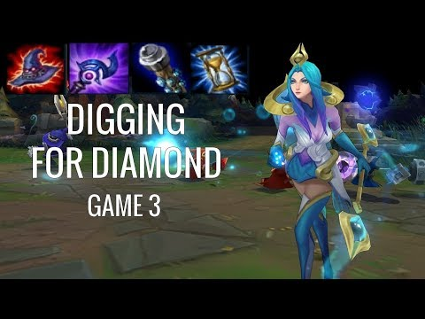 STILL THE BEST MID CHAMP IN LEAGUE!! -  Lux Mid - Digging for Diamond Game 3 - League of Legends