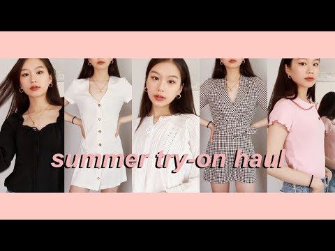 SUMMER TRY-ON CLOTHING HAUL 2019