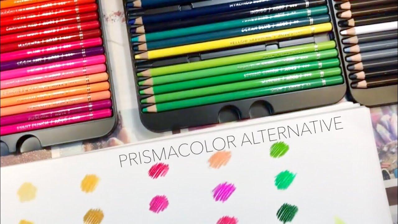 Better than PRISMACOLOR?? | Arteza Colored Pencil Review ...