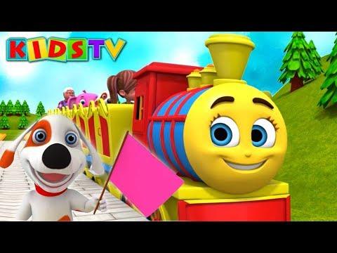 Chuk Chuk Karti Rail Chali | Hindi Nursery Rhymes For Children