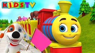 Chuk Chuk Karti Rail Chali  Hindi Nursery Rhymes For Children