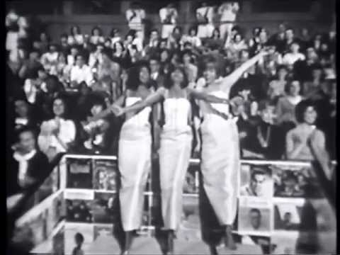 RARE - The original Supremes live on Hullabaloo