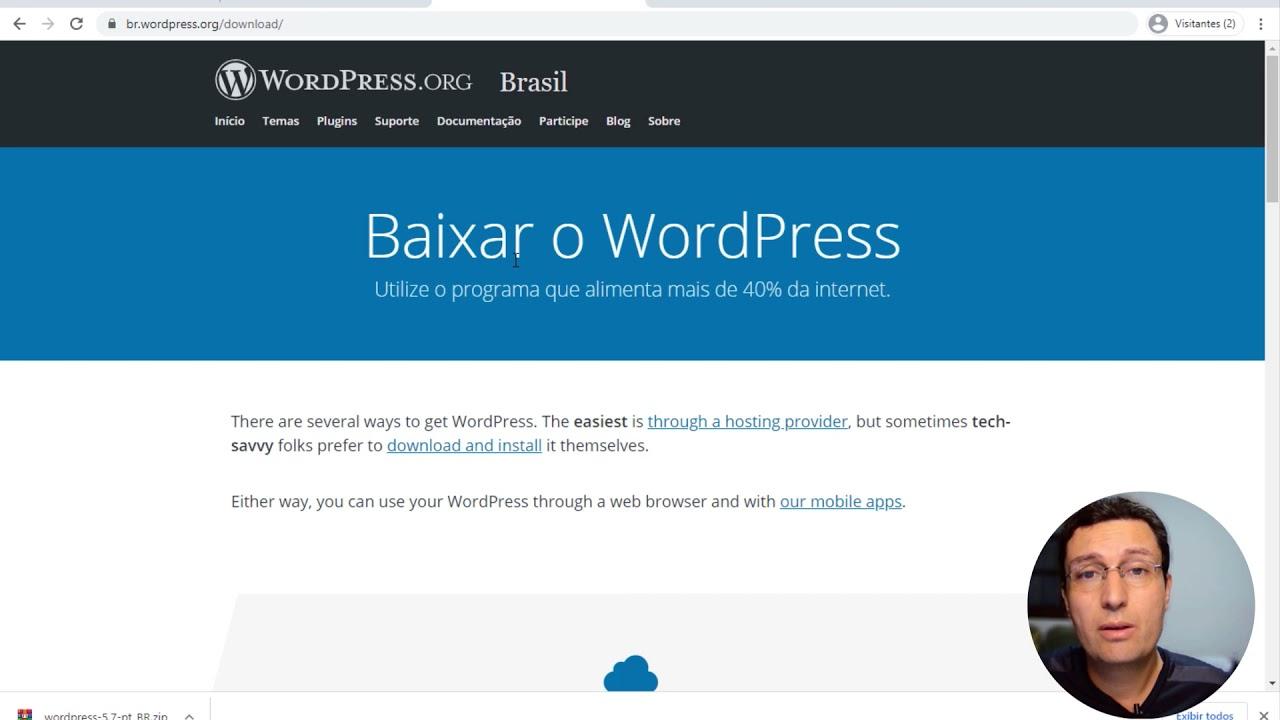 Download Curso Wordpress passo a passo completo