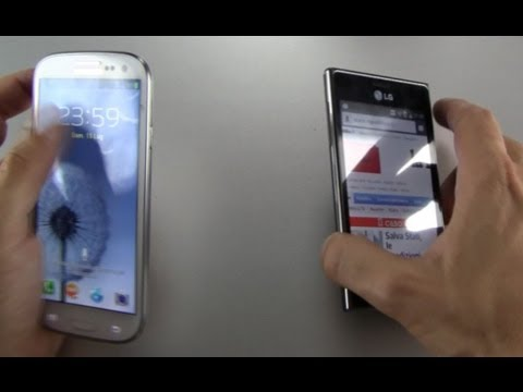 LG Optimus L5 android video prova by HDblog