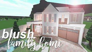 Blush Family Home 165k | ROBLOX Bloxburg