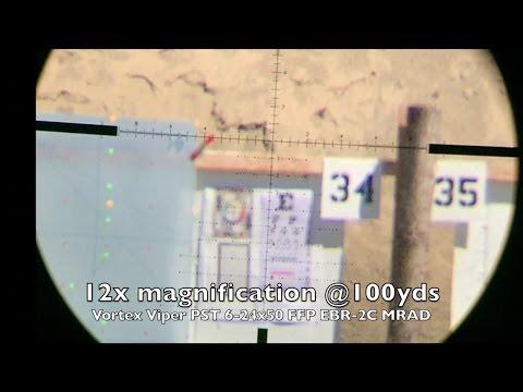 Vortex Viper PST 6-24x50 FFP EBR 2C MRAD