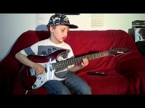 Dustin Tomsen 9 yr old improvising a blues song..