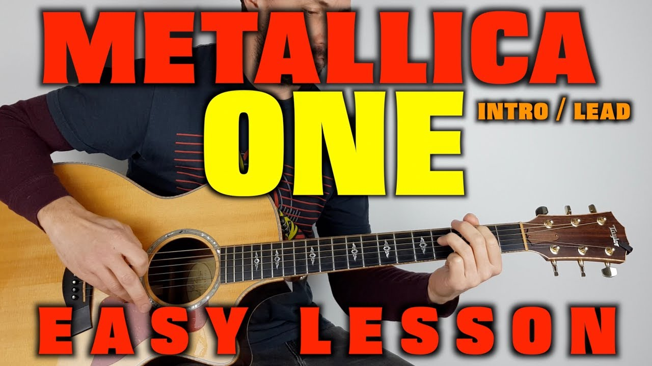 how to play one by metallica tabs