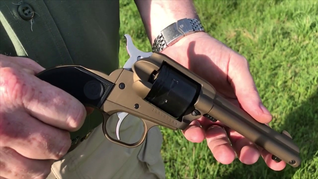 On the Range with Ruger's Wrangler Revolver