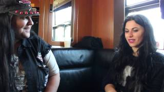 Cristina Scabbia of Lacuna Coil Interview with Music Junkie Press