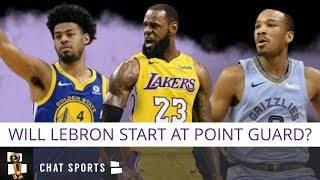 Lakers' Point Guard: Should LA Start LeBron James At PG? Or Should It Be Bradley, Rondo Or Cook?