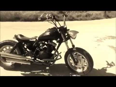 keeway superlight 125 bobber custom youtube. Black Bedroom Furniture Sets. Home Design Ideas