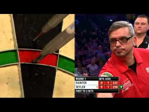 Kevin Painter vs Thomas Seyler - PDC World Darts Championships 2014 First Round