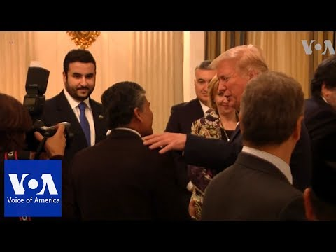 Trump Welcomes Muslims to Iftar Dinner at White House