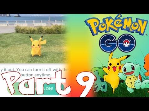 PIKACHU AS STARTER IN POKEMON GO, PIKACHU EASTER EGG GLITCH??? | LET'S PLAY POKEMON GO PART 9