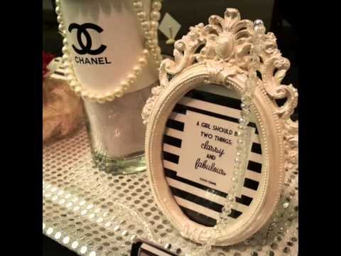 joie decoration coco chanel bridal shower youtube