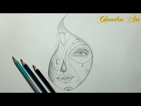 Cool Sketches - Pencil Drawing An Abstract Picture #Easy
