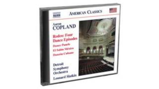 Aaron Copland - Rodeo: Four Dance Episodes Naxos  1CD  8559758