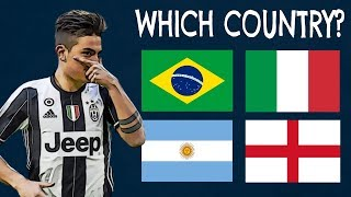 Which Countries Do The Players Play For? (Part 2)| Football Quiz