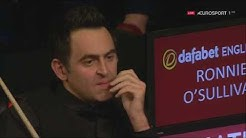 Ronnie O'Sullivan v Jack Lisowski QF English Open 2017   YouTube