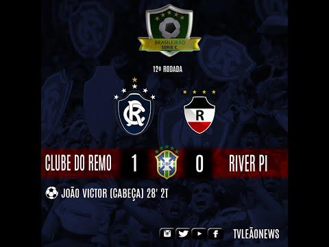 Série C - Clube do Remo 1 X 0 River PI - JOGO COMPLETO