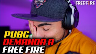 PUBG DEMANDA A FREE FIRE?