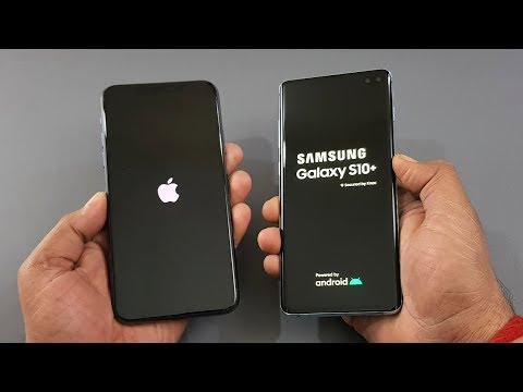 IPhone 11 Pro Max Vs Samsung S10 Plus | Speed Test | Camera Test