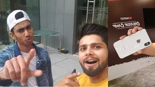 Gauravzone Exposed on Youtube Fanfest Andy Gujjar I iPhone X Prank in YTFF
