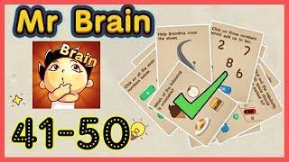 Mr Brain Level 41 42 43 44 45 46 47 48 49 50 Walkthrough Solution