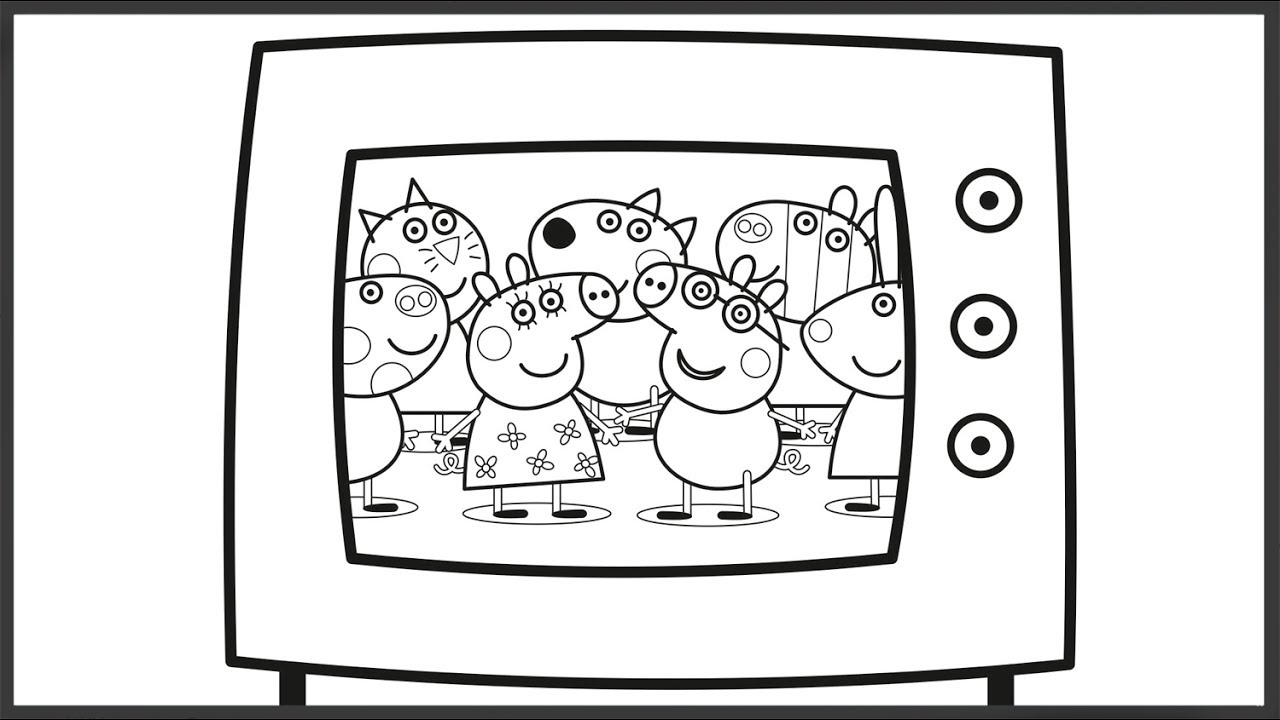 Friends tv show pages coloring pages for Tv coloring page