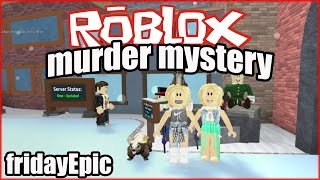 Christmas In Roblox!! - Murder Mystery