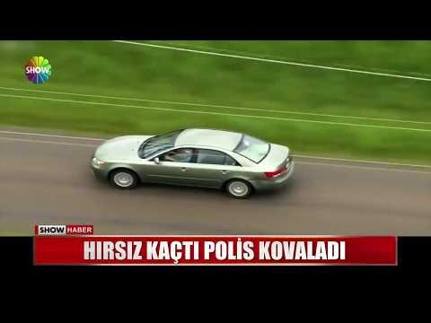 Hırsız Kaçtı Polis Kovaladı