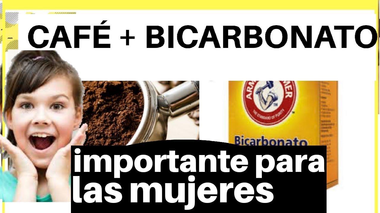 Porque la mezcla CAFÉ y BICARBONATO es  tan importante como  remedio casero