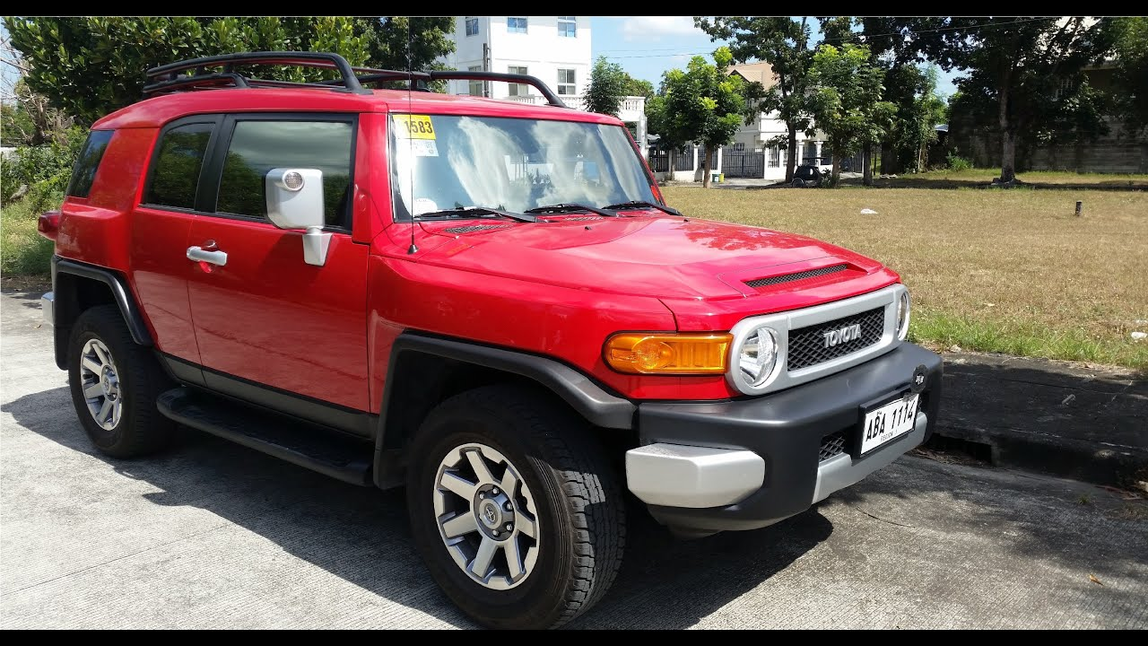 2015 Toyota Fj Cruiser Full Review Interior Exterior Doovi