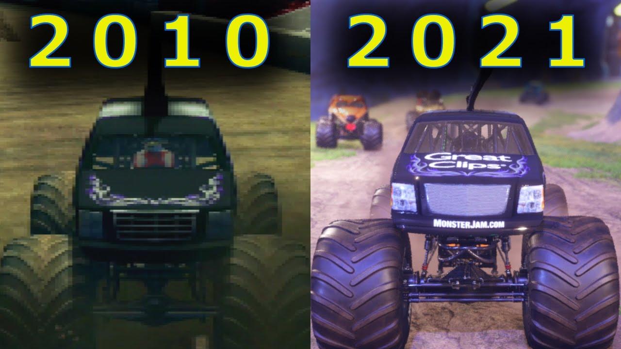 Download Evolution of MOHAWK Warrior in Monster Jam and Monster Truck Games