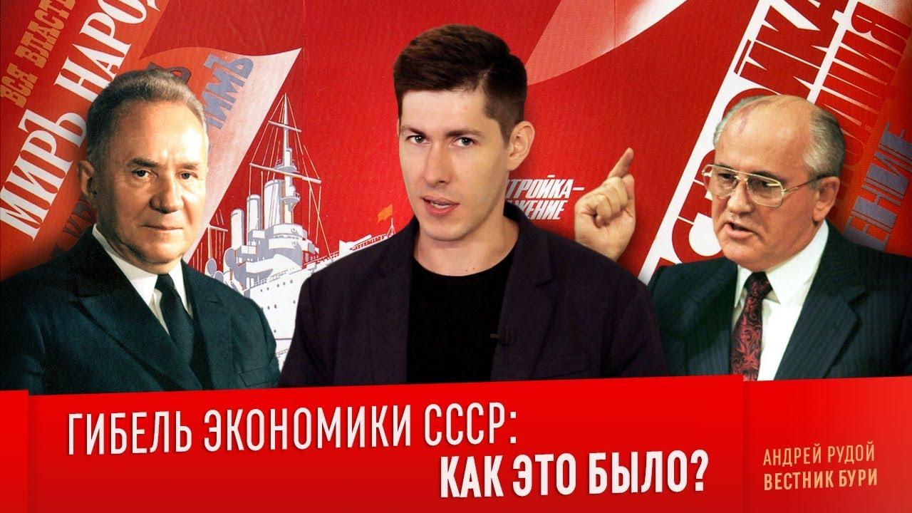 ГИБЕЛЬ ЭКОНОМИКИ СССР. Как это было?