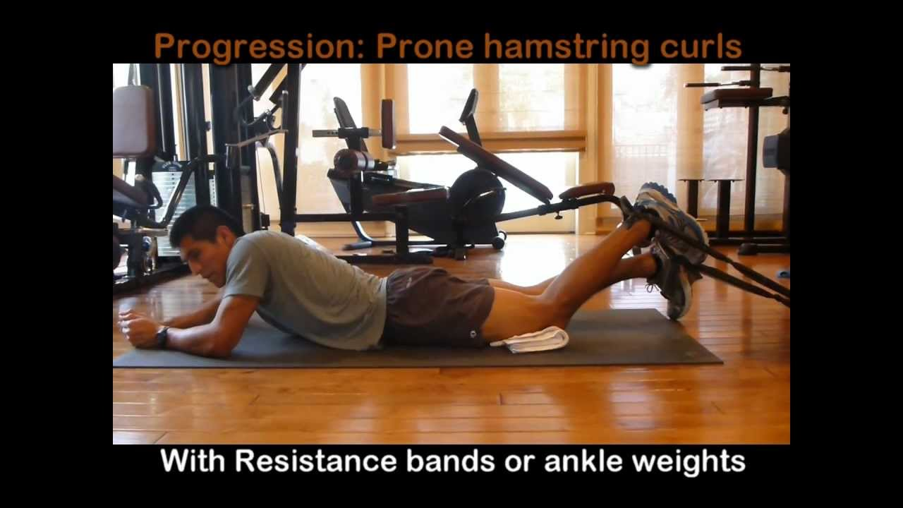 Total Knee Replacement Exercises 5 - Hamstring Exercises ...