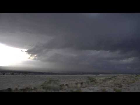Albuquerque July 26th 2013 significant gust front/outflow boundary wind event