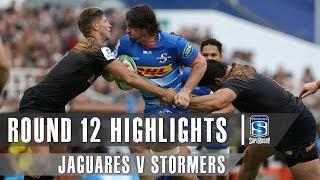 ROUND 12 HIGHLIGHTS: Jaguares v Stormers - 2019