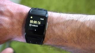 newgen medicals Smartwatch GPS Puls, Sportarmband, GPS Uhren, Smart-Fitness-Tracker (September 2018)