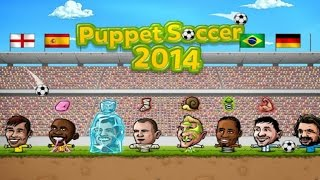 Puppet Soccer 2014 - Football Android Gameplay #2
