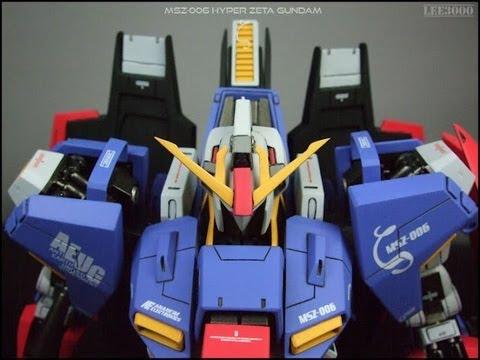 1/72 Neograde Hyper Z (Zeta) Gundam resin kit, Super G recast - new kit showoff