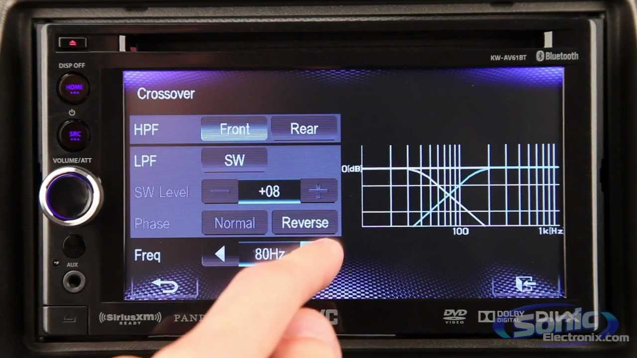 hight resolution of jvc kw av61 kw av61bt multimedia receivers touchscreen car stereos youtube